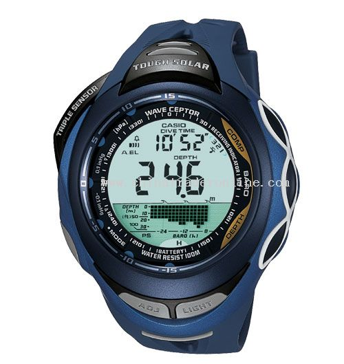 Brand New Atomic Solar Triple Sensor Pathfinder Mens Sports Watch